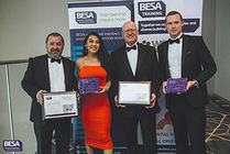 Exyte Hargreaves Wins At Besa North West Awards